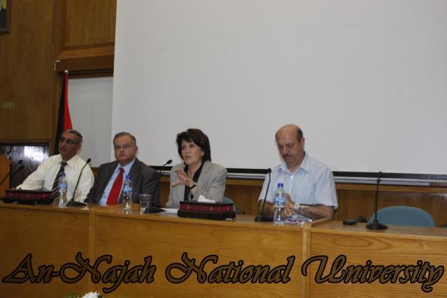 زيارة وزيرة الشؤون الإجتماعية د.ماجدة المصري (17)