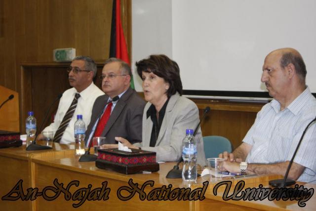 زيارة وزيرة الشؤون الإجتماعية د.ماجدة المصري (20)
