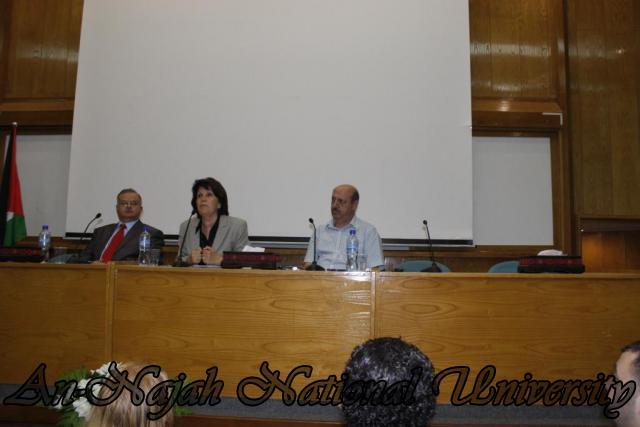 زيارة وزيرة الشؤون الإجتماعية د.ماجدة المصري (32)
