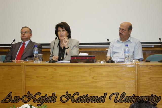 زيارة وزيرة الشؤون الإجتماعية د.ماجدة المصري (34)