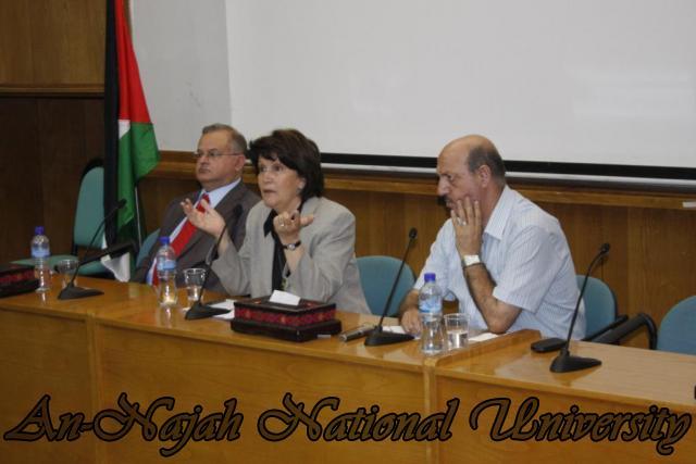 زيارة وزيرة الشؤون الإجتماعية د.ماجدة المصري (35)