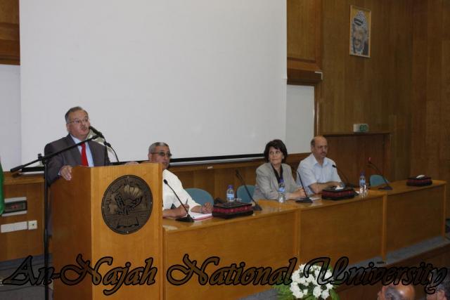 زيارة وزيرة الشؤون الإجتماعية د.ماجدة المصري (4)