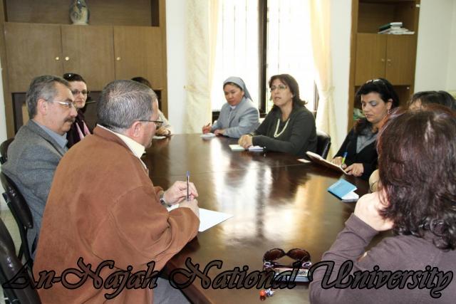 زيارة وفد من جامعة بيت لحم لاصحاب الحجات الخاصة 2