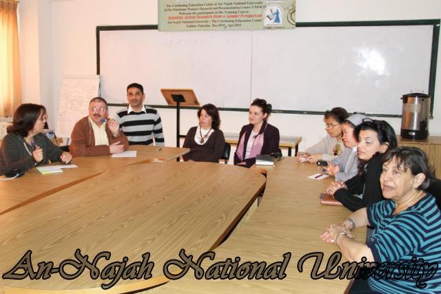زيارة وفد من جامعة بيت لحم لاصحاب الحجات الخاصة 3