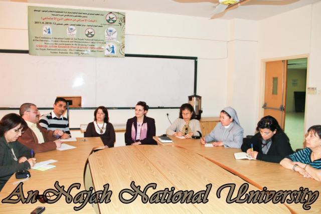 زيارة وفد من جامعة بيت لحم لاصحاب الحجات الخاصة 5