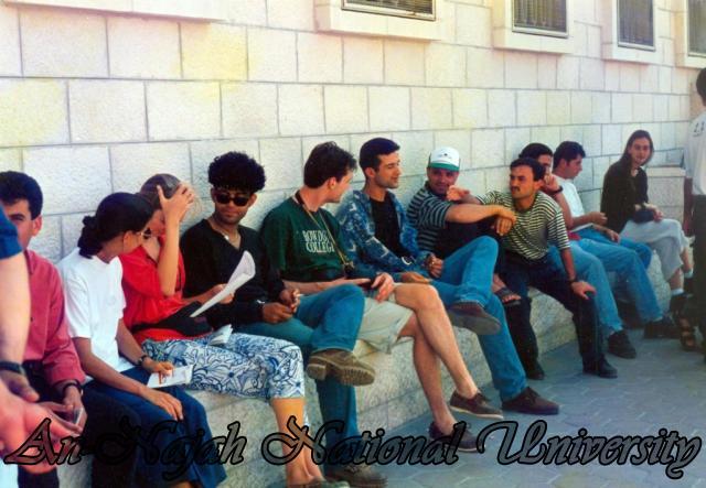 زياره وفد  مخيم جامعة بيرزيت الدولي