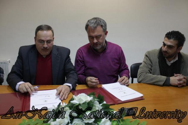 كلية الهندسة توقع اتفاقية تعاون مشترك مع مؤسسة التعاون الألماني (GIZ) (12)