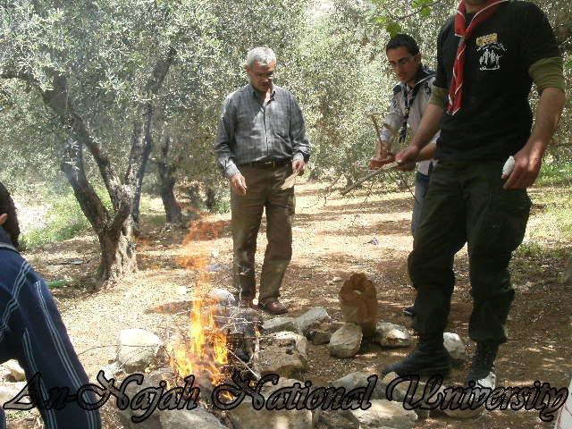 المخيم الخامس لعشيرة جوالة ومنجدات الجامعة