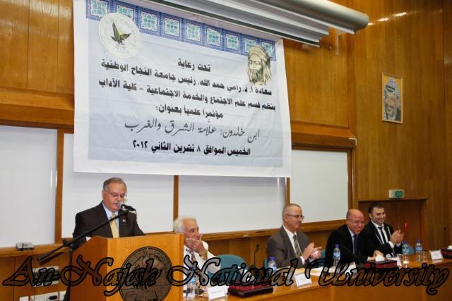 مؤتمر ابن خلدون علامة الشرق والغرب 8.11.2012 13