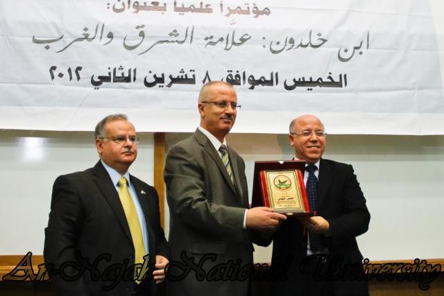 مؤتمر ابن خلدون علامة الشرق والغرب 8.11.2012 14