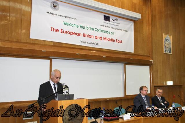 مؤتمر الاتحاد الاوروبي والشرق الاوسط 3