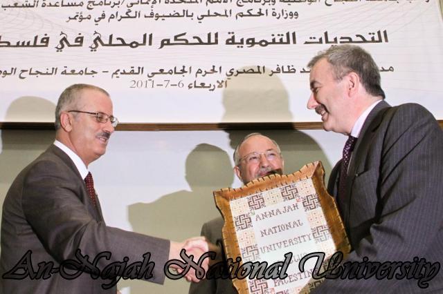 مؤتمر التحديات التنموية للحكم المحلي في فلسطين 14