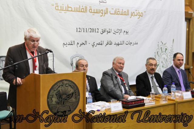 مؤتمر العلاقات الروسية الفلسطينية 12.11.2012 12