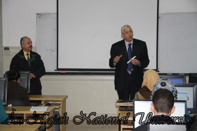 محاضرة لمدير البنك الأهلي الاردني (3)