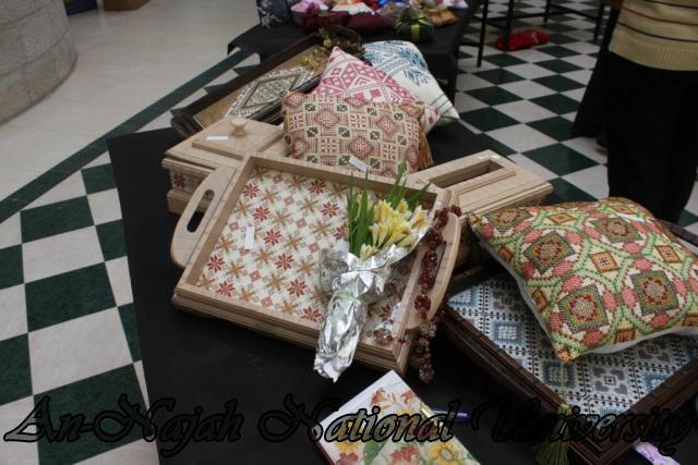 معرض التطريز والإعمال اليدوية
