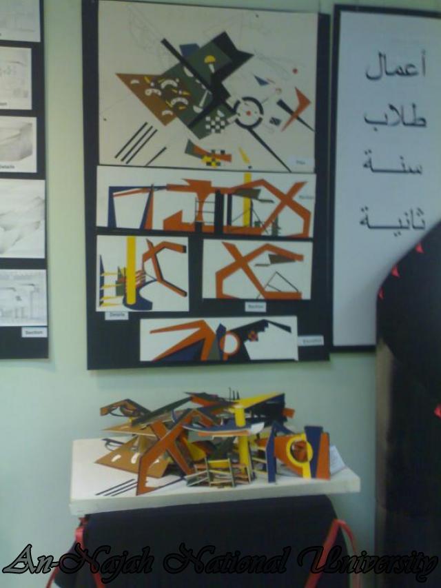 معرض قسم الديكور - كلية الفنون الجميلة