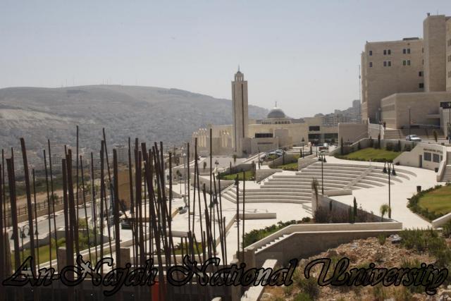 مكتبة جامعة النجاح - الحرم الجديد
