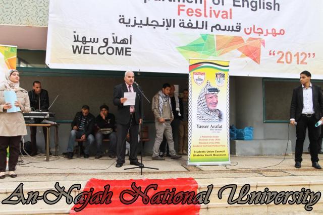 مهرجان قسم اللغة الإنجليزية 12.11.2012 7