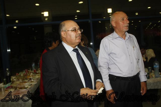 نقابة العاملين تنظم افطاراً رمضانيا للعاملين في الجامعة