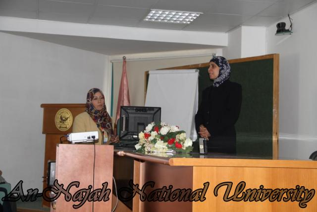 ورشة عمل بحثية لطلبة مساق صورة المرأة في المناهج الفلسطينية (2)