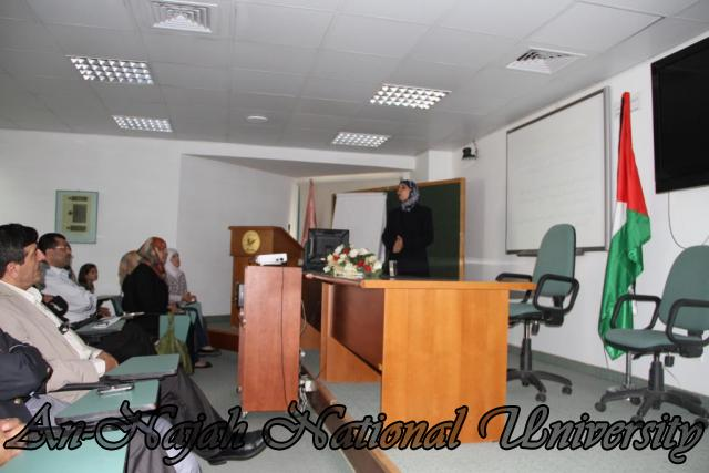 ورشة عمل بحثية لطلبة مساق صورة المرأة في المناهج الفلسطينية (3)
