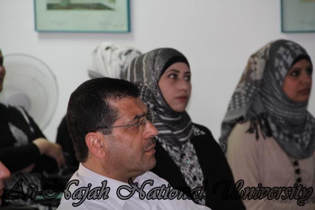 ورشة عمل بحثية لطلبة مساق صورة المرأة في المناهج الفلسطينية (8)