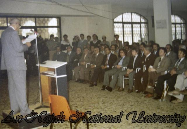 وفد بلدية داندي ورئيس بلدية نابلس بسام الشكعة