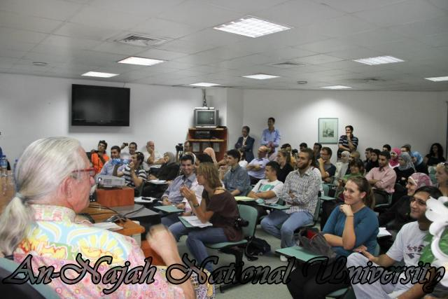 04.09.2011, محاضرة الدكتور Patch Adams مختر اسلوب العلاج بالضحك  2