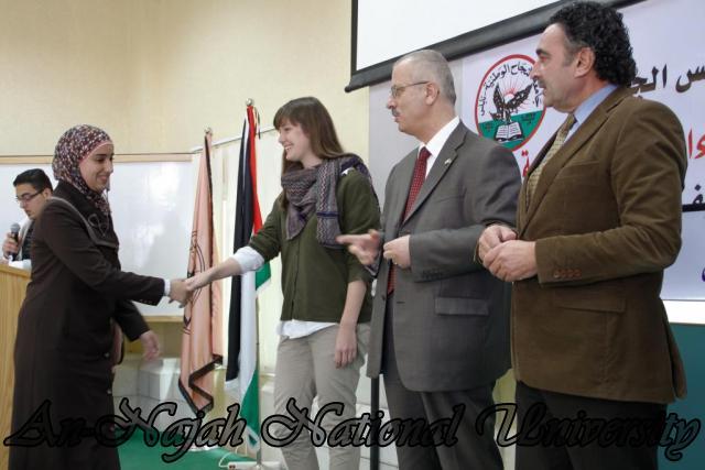 04.12.2011, حفل تخريج طلبة دورات تنمية الكفاءات 9
