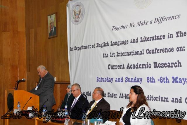 05.05.2012 مؤتمر البحث الأكاديمي المعاصر، قسم اللغة الإنجليزية
