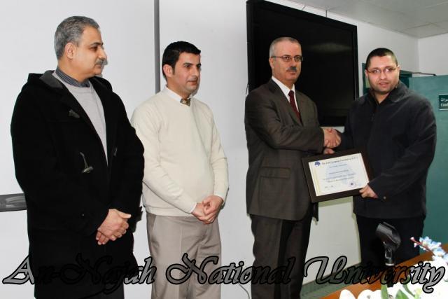 07.02.2012, حفل توزيع شهادات دورة العطاءات والمشتريات 18