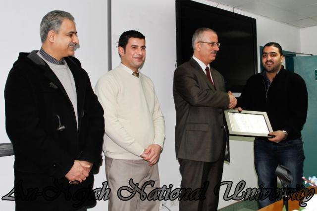 07.02.2012, حفل توزيع شهادات دورة العطاءات والمشتريات 19