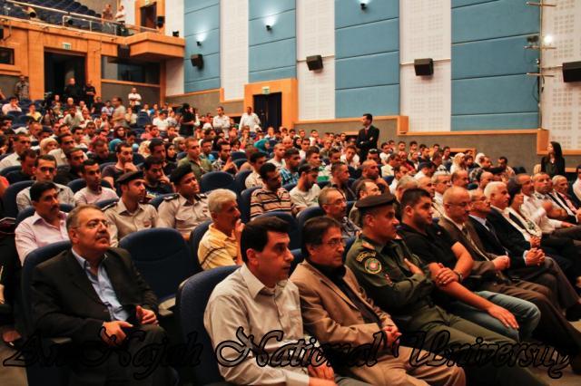 07.10.2012  لقاء رئيس الوزراء الدكتور سلام فياض مع طلبة الجامعة 9