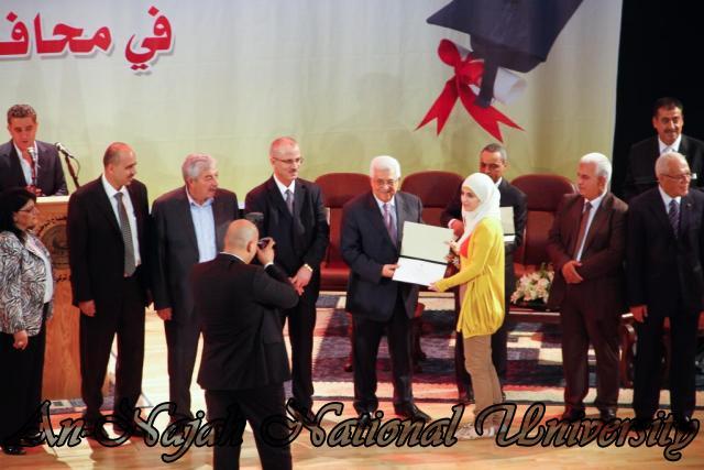 08.08.2012 زيارة فخامة السيد الرئيس محمود عباس لجامعة النجاح الوطنية 19