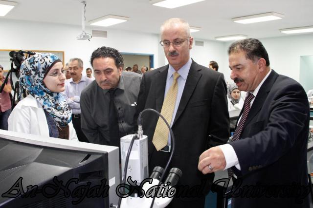08.09.2011, افتتاح معشبة الجامعة ومختبر المايكروسكوبات 9