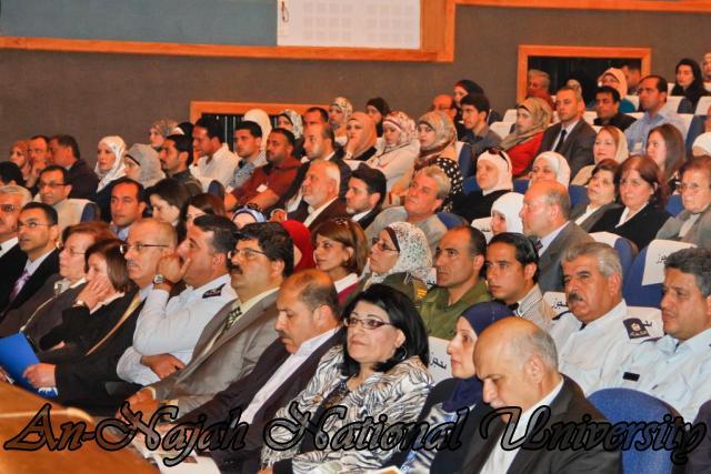 "09.04.2012 The University Inaugurates the Plastic Art Exhibition titled ""Hawajes"" 10"