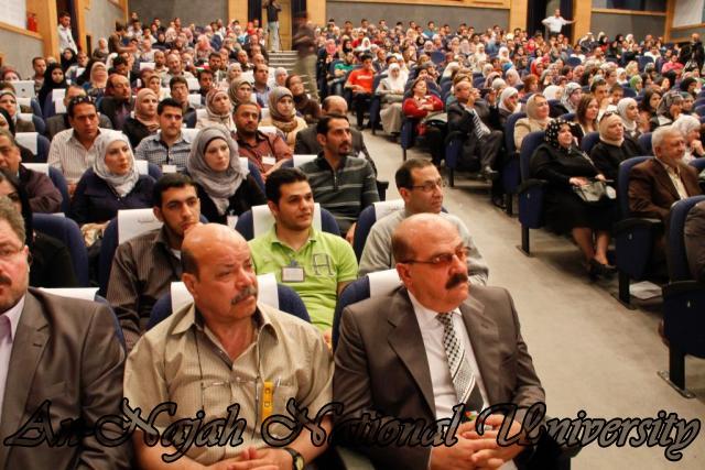 "09.04.2012 The University Inaugurates the Plastic Art Exhibition titled ""Hawajes"" 25"