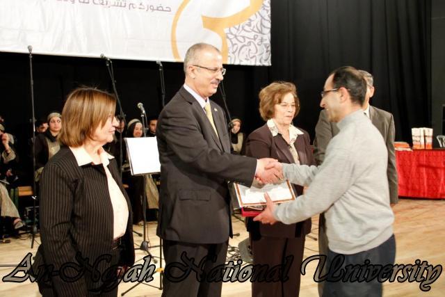 "09.04.2012 The University Inaugurates the Plastic Art Exhibition titled ""Hawajes"" 54"