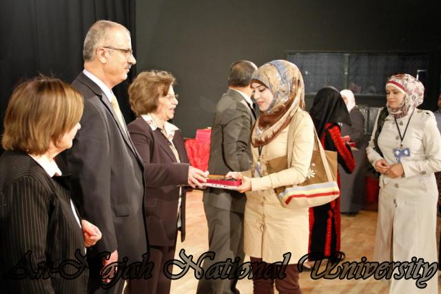"09.04.2012 The University Inaugurates the Plastic Art Exhibition titled ""Hawajes"" 63"