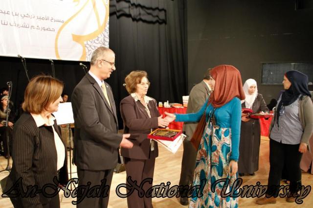 "09.04.2012 The University Inaugurates the Plastic Art Exhibition titled ""Hawajes"" 66"