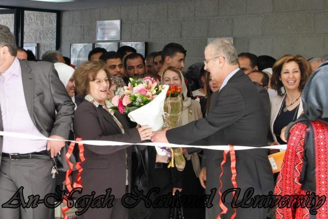 "09.04.2012 The University Inaugurates the Plastic Art Exhibition titled ""Hawajes"" 74"