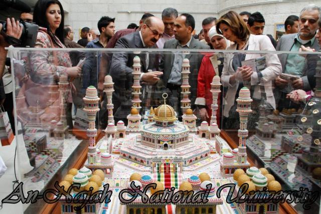 "09.04.2012 The University Inaugurates the Plastic Art Exhibition titled ""Hawajes"" 77"