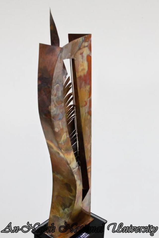 "09.04.2012 The University Inaugurates the Plastic Art Exhibition titled ""Hawajes"" 80"