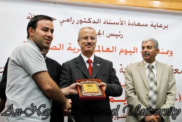 10.05.2012 حفل تكريم الصحفيين الفلسطينيين بمناسبة اليوم العالمي لحرية الصحافة 37