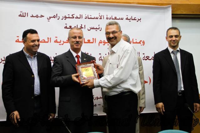 10.05.2012 حفل تكريم الصحفيين الفلسطينيين بمناسبة اليوم العالمي لحرية الصحافة 50