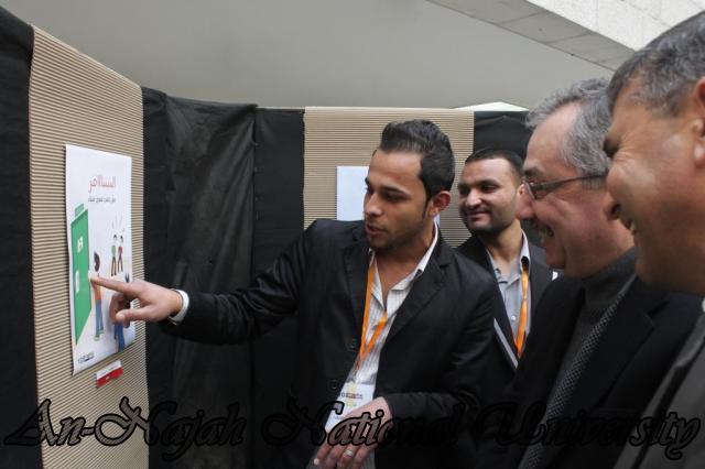 14.03.2012 معرض طلبة التصميم الجرافيكي في كلية الفنون الجميلة 8