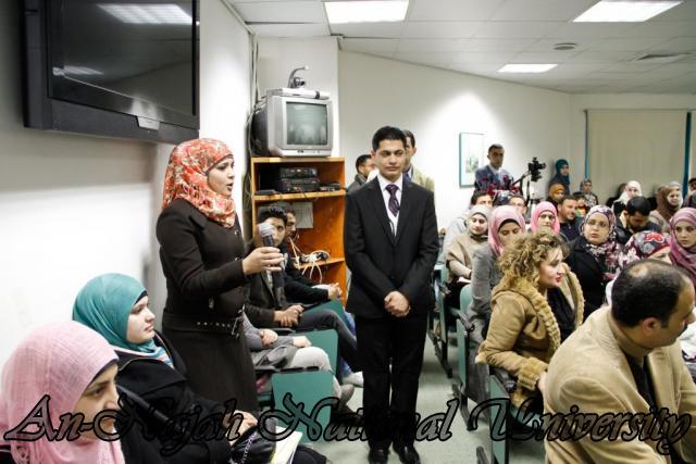 15.02.2012  حفل تخريج طلبة دورة الكتابة الابداعية 11