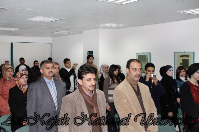 15.02.2012  حفل تخريج طلبة دورة الكتابة الابداعية 2