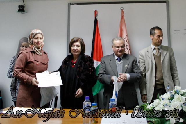 15.02.2012  حفل تخريج طلبة دورة الكتابة الابداعية 21