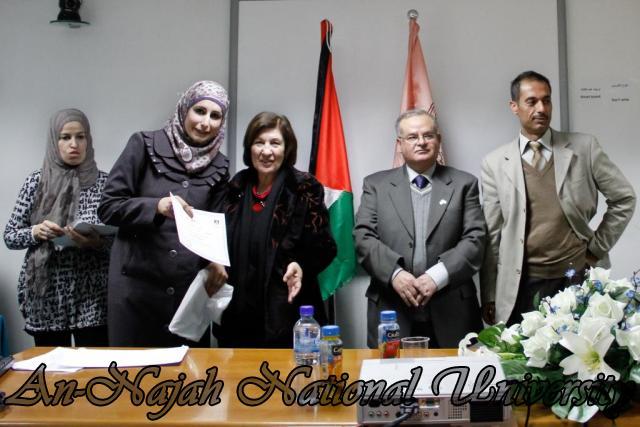 15.02.2012  حفل تخريج طلبة دورة الكتابة الابداعية 24